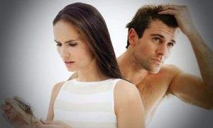 возможные причины выпадения волос