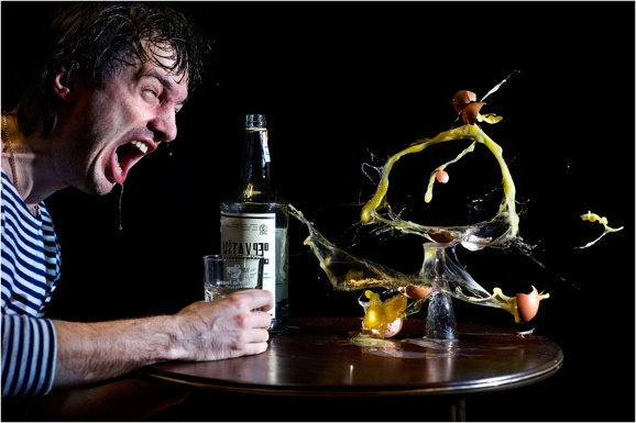 пьющий человек алкоголизма
